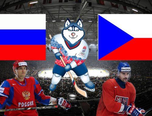 Utkání o Bronz – ČESKO vs RUSKO !!!